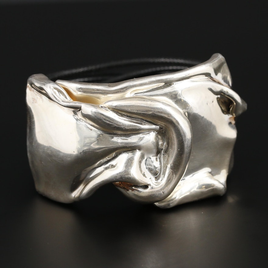 Sterling Silver Multi-Cord Bracelet