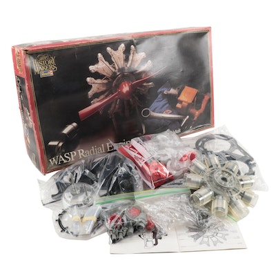 """Revell Aircraft Engine """"History Makers"""" Model Kit with Original Packaging, 1982"""