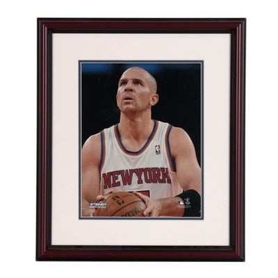 Framed Jason Kidd New York Knics Photo Print