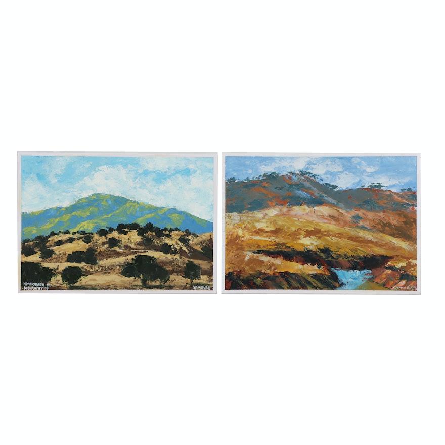 Oil Paintings of Landscape Scenes
