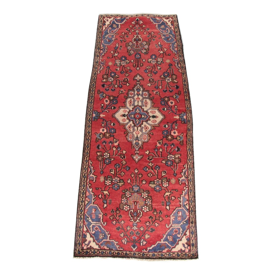 2'11 x 8'10 Hand-Knotted Persian Mehriban Wool Capet Runner
