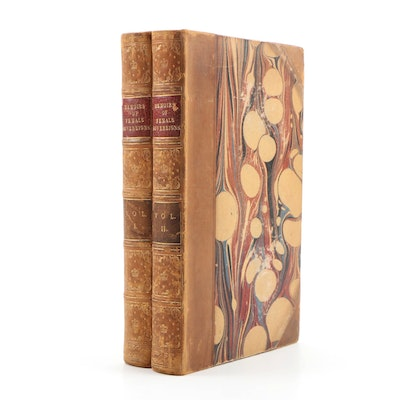 """1831 First Edition """"Memoirs of Celebrated Female Sovereigns"""" by Mrs. Jameson"""