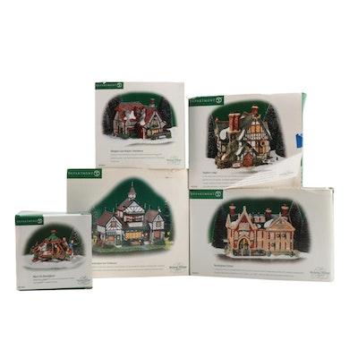 """Department 56 """"Dickens' Village"""" Figures in Original Packaging"""