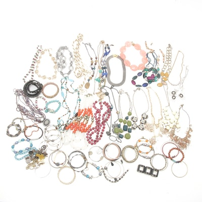 Jewelry Assortment Featuring Juicy Couture, Lucky Brand and Coldwater Creek