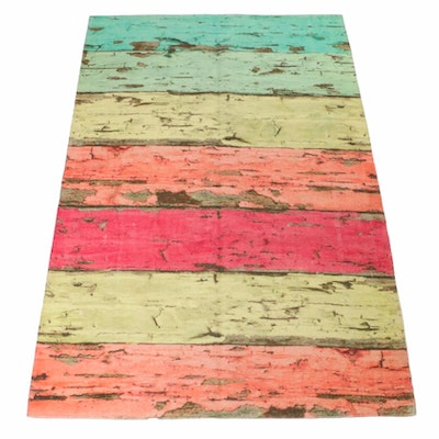 5'2 x 7'10 Tufted Abstract Rug