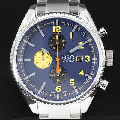 ESQ By Movado Catalyst Quartz Chronograph Wristwatch
