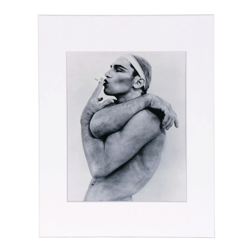 "Publisher Copy Digital Photograph after Herb Ritts ""Vladimir I"""