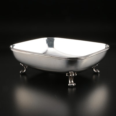 Mario Buccellati of Italy Sterling Silver Footed Bowl, Mid/Late 20th Century