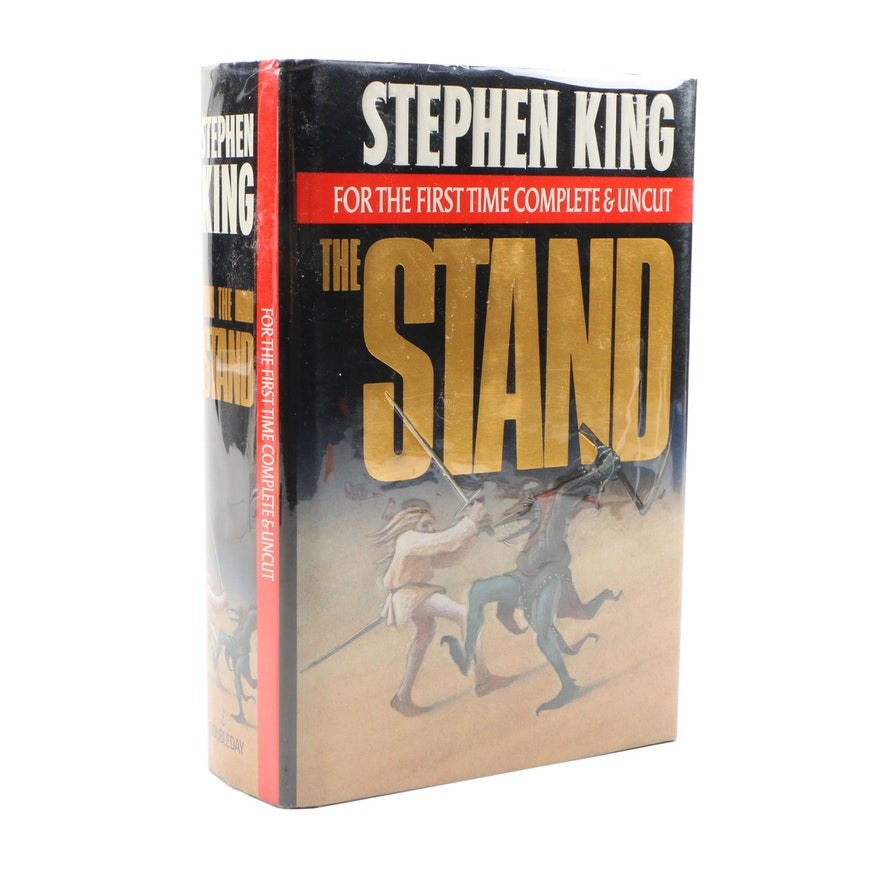 "First Trade Edition, First Printing ""The Stand: Complete & Uncut Edition"""