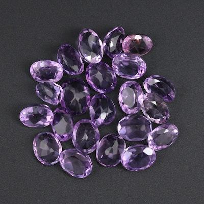 Loose 61.43 CTW Amethyst Gemstones