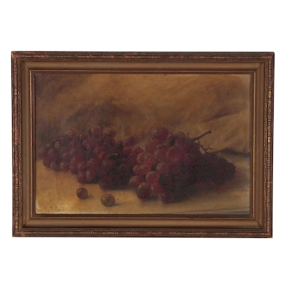 Still Life with Grapes Oil Painting, 1903