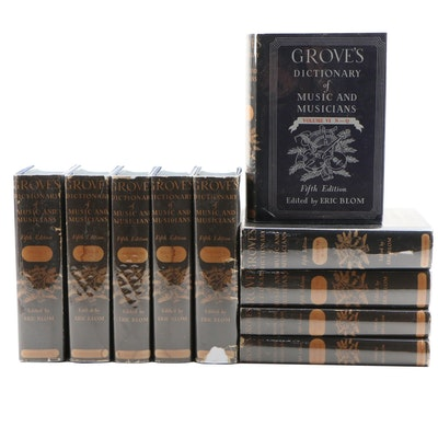 """""""Grove's Dictionary of Music and Musicians"""" Complete Set with Supplement"""
