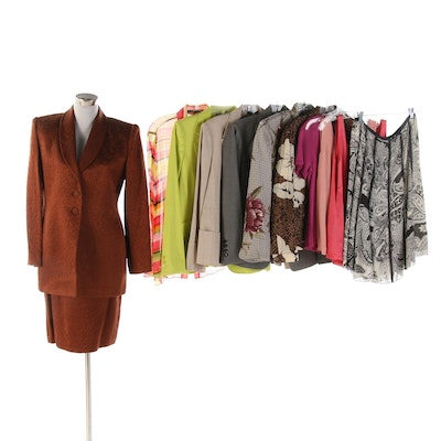 Ellen Tracy Brand Jackets, Skirts and Other Separates
