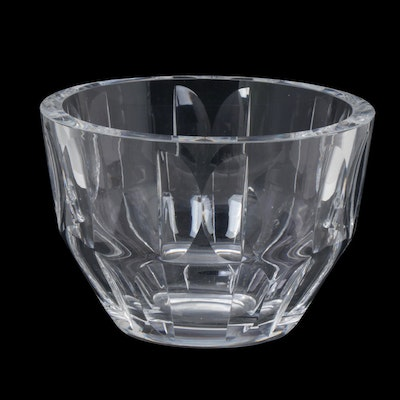 "Orrefors ""Zenith"" Crystal Bowl, Late 20th Century"