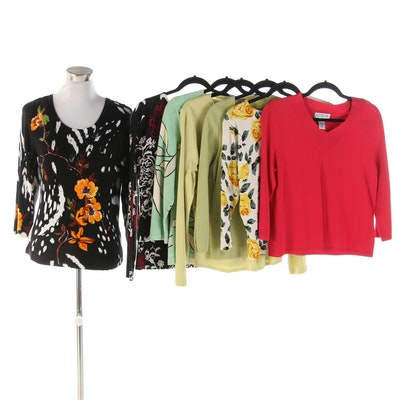 Nic Knits by Nicole Miller, Sigrid Olsen, Ann Taylor with Other Sweaters