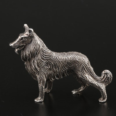 Kuhn Sterling Collie Dog Figurine