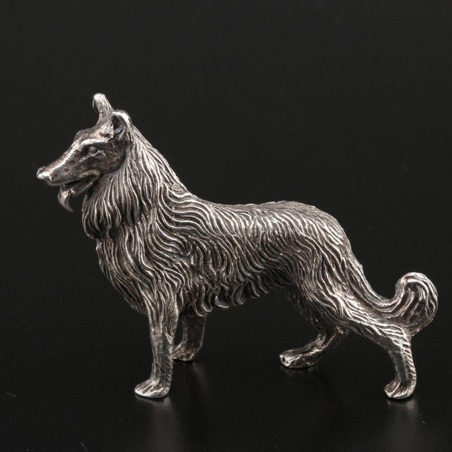 Kuhn Sterling Collie Dog Figurine