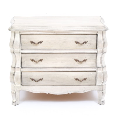 """Interior Crafts"" French Provincial Style End Table, Late 20th Century"