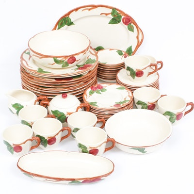 "Franciscan ""Apple"" Earthenware Dinnerware Set"