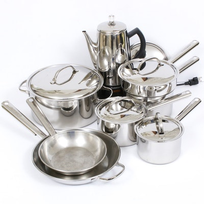 Cuisinart Stainless Steel Skillets, Stockpots and Other Cookware