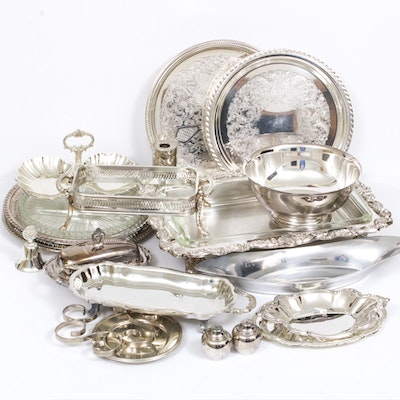Gorham and More Silver-Plated Serveware
