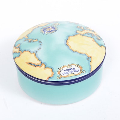 Tiffany & Co. for Tauck World Discovery Porcelain Trinket Box