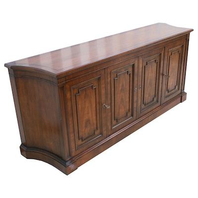 Kindel Furniture Company Walnut Sideboard, Late 20th Century
