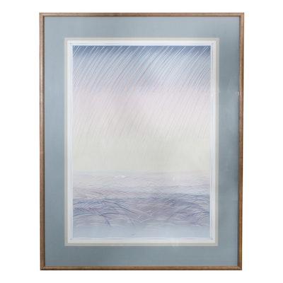 "Martineau Lithograph Print ""Pastoral"""