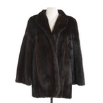 Blackglama Dark Ranch Mink Fur Coat