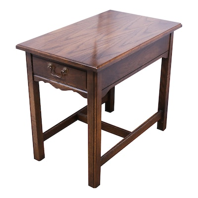Mersman Harwood End Table, Mid to Late 20th Century