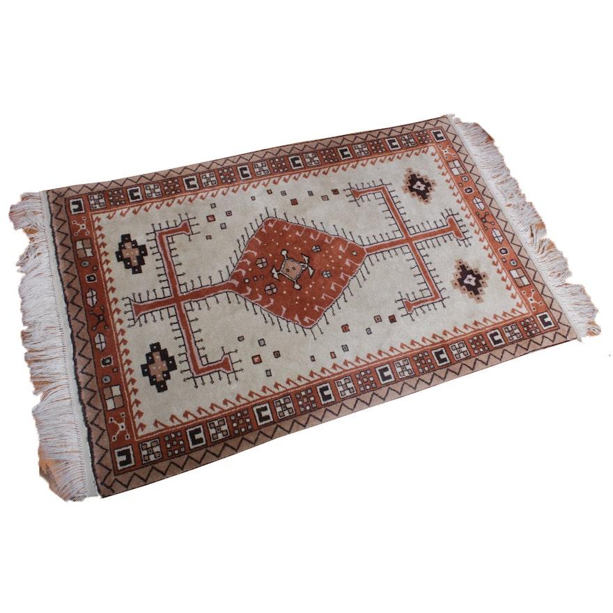 3'6 x 6'3 Hand-Knotted Anatolian Rug
