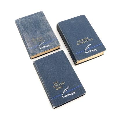 Ernest Hemingway Book Collection, Three Volumes