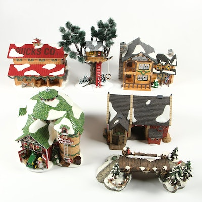 "Department 56 ""Snow Village"" Resin Christmas Village Buildings and Accessories"