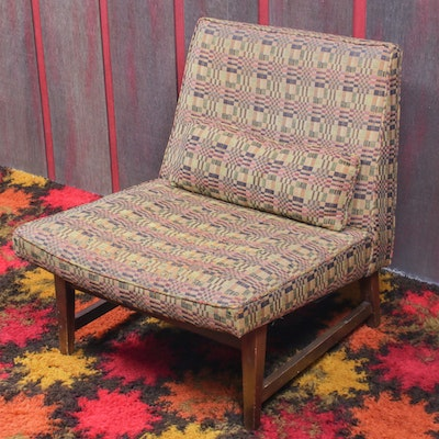 Mid Century Modern Slipper Chair, Mid-20th Century