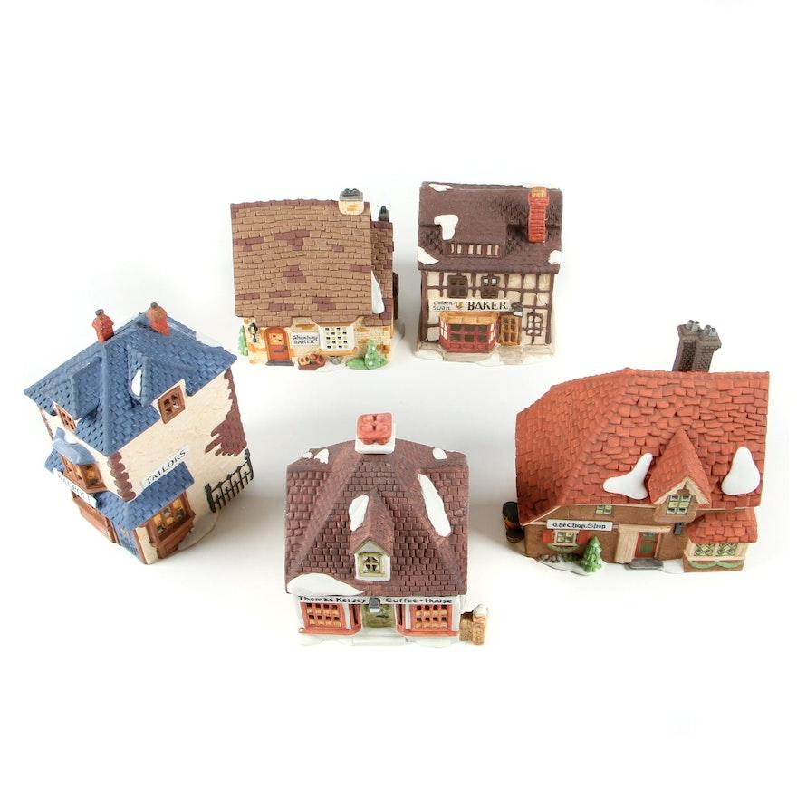Dept. 56 Dickens' Village Series Heritage Village Collection Porcelain Buildings