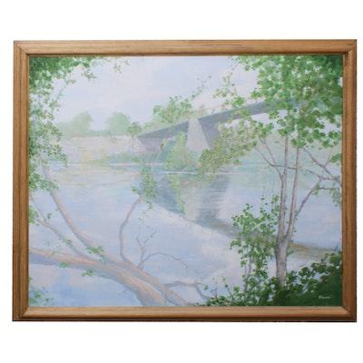 Ericson Landscape Oil Painting