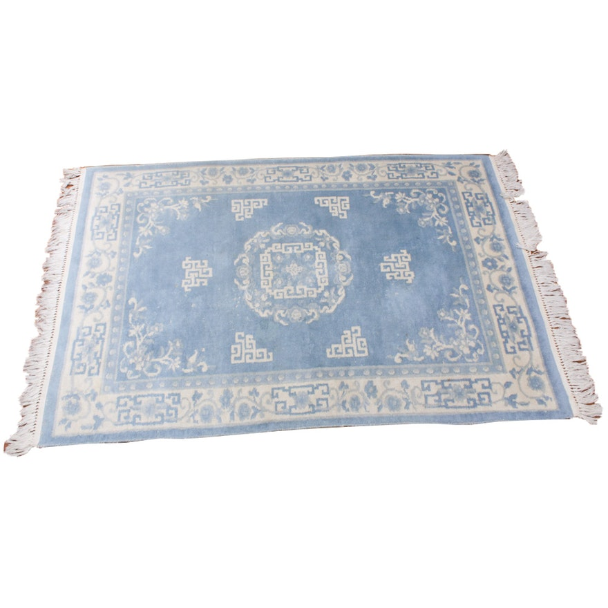 4'3 x 6'8 Hand-Knotted Chinese Rug