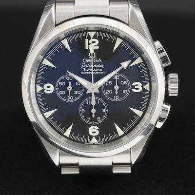 Omega Seamaster Railmaster Stainless Steel Chronometer Wristwatch