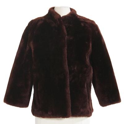 Mouton Fur Jacket from Jaskow Furs, Vintage