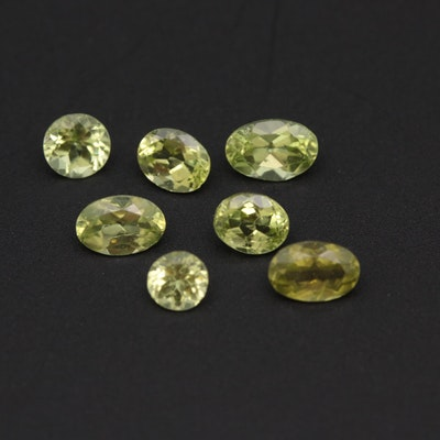 Loose 3.00 CTW Peridot Gemstones