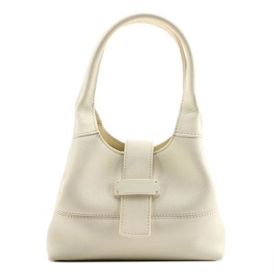 Loro Piana Cream Leather Mini Donna Bag