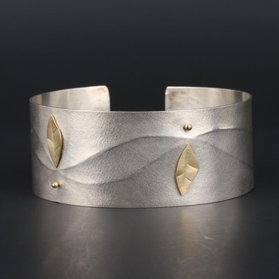 Cassavoy & Co. Sterling Silver Cuff Bracelet