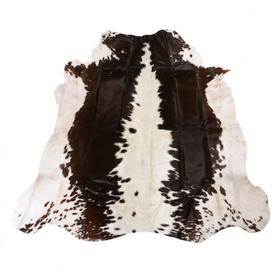 4'6 x 4'10 Cowhide Accent Rug
