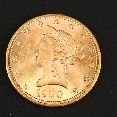 1900 Liberty Head $10 Gold Coin