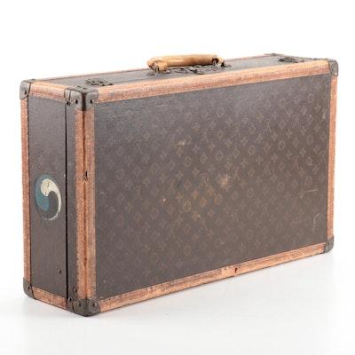 Louis Vuitton Monogram Canvas Suitcase, Vintage
