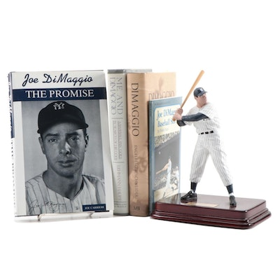 "Joe DiMaggio ""The Yankee Clipper"" Hartland Statue with Books, Contemporary"