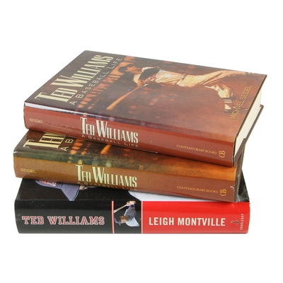 Biographies of Ted Williams featuring First Editions