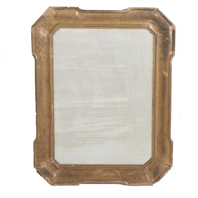 French Gilt Framed Wall Mirror, 19th Century