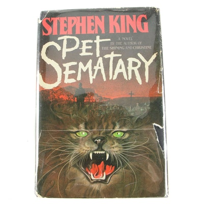 "First Edition, First State ""Pet Sematary"" by Stephen King"