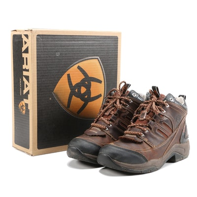 Ariat Telluride H2O Insulated Hiking Boots in Carob